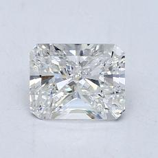 Recommended Stone #4: 1,00-Carat Radiant Cut Diamond