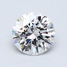 0.96 Carat 圆形 Diamond 理想 D VVS1