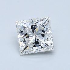 推薦鑽石 #2: 1.00  克拉公主方形鑽石