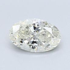 1,20 Carat Ovale Diamond Bonne K SI1