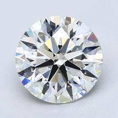 2.00-Carat Round Diamond Ideal G VS2