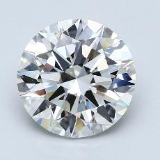 Recommended Stone #4: 3.51-Carat Round Cut