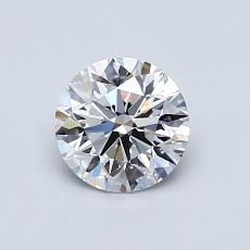 0.77-Carat Round Diamond Ideal D SI1