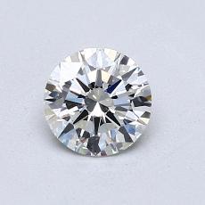 0.70 Carat 圓形 Diamond 理想 H VVS1