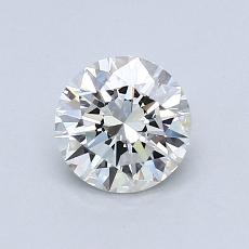 0,70 Carat Rond Diamond Idéale H VS1