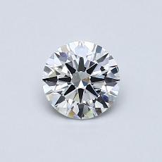 0.52 Carat 圆形 Diamond 理想 D VVS1