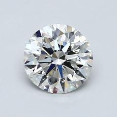 1.06-Carat Round Diamond Ideal G VVS1