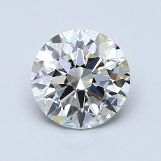 1.20-Carat Round Diamond Ideal H VS1