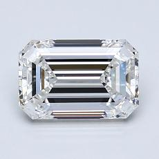 1.53 Carat 绿宝石 Diamond 非常好 E VVS2