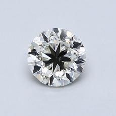 0.70 Carat 圆形 Diamond 良好 K SI1