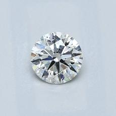 Recommended Stone #3: 0.43-Carat Round Cut Diamond