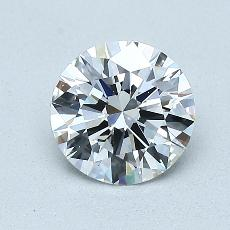 1.02-Carat Round Diamond Ideal E VVS1