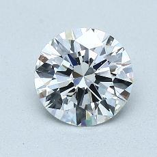 1,02 Carat Rond Diamond Idéale E VVS1