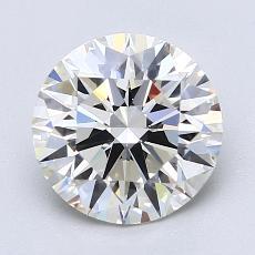 Pierre recommandée n°4: Diamant taille ronde 2,02 carat