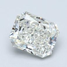 Recommended Stone #2: 1,30-Carat Radiant Cut Diamond