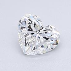 オススメの石No.2:1.01 Carat Heart Shaped