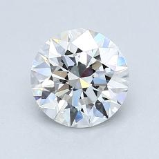1.01-Carat Round Diamond Ideal E VS1