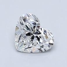 オススメの石No.4:1.01カラットのハートカットダイヤモンド