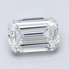 Recommended Stone #1: 1,52-Carat Emerald Cut Diamond
