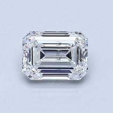 0.90 Carat 绿宝石 Diamond 非常好 F SI1