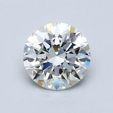 1.01-Carat Round Diamond Ideal F VS1