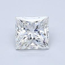 Recommended Stone #1: 1.03-Carat Princess Cut
