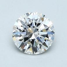 1.00 Carat 圆形 Diamond 理想 E VVS1
