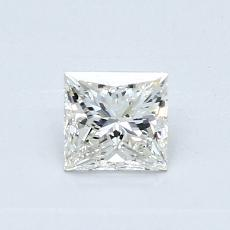 Recommended Stone #2: 0.50-Carat Princess Cut Diamond