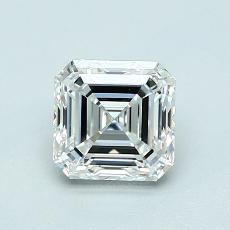 1.04-Carat Asscher Diamond Very Good G VVS2