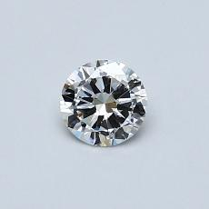 Recommended Stone #2: 0,30-Carat Round Cut Diamond