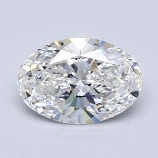 Recommended Stone #4: 1.71-Carat Oval Cut Diamond