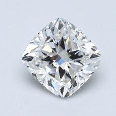 1.02-Carat Cushion Diamond Very Good E VVS2
