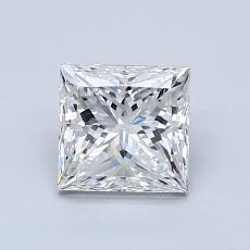 1,01 Carat Princesse Diamond Très bonne G VVS2