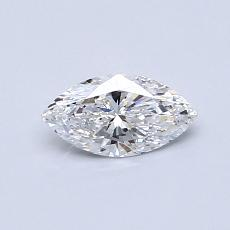 Recommended Stone #2: 0.41-Carat Marquise Cut Diamond