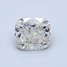 1.00-Carat Cushion Diamond Very Good K SI2