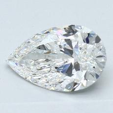 推薦鑽石 #3: 1.51 克拉梨形鑽石