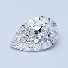 Recommended Stone #1: 0.91-Carat Pear Cut Diamond