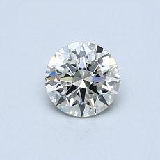 0.50 Carat 圓形 Diamond 理想 J VS2