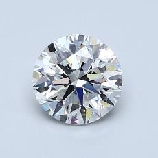 1.00-Carat Round Diamond Very Good G SI1