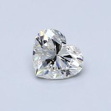 Recommended Stone #2: 0.52-Carat Heart Cut Diamond