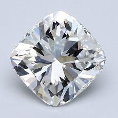 2,00 Carat Coussin Diamond Très bonne H VVS2
