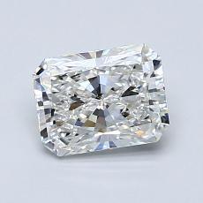 1.01-Carat Radiant Diamond Very Good G SI1
