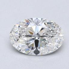 1,01-Carat Oval Diamond Very Good G VS2