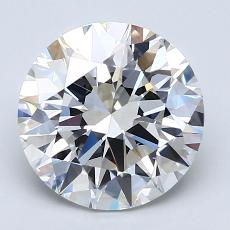 Recommended Stone #2: 2.52-Carat Round Cut Diamond
