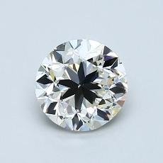 1.00 Carat 圆形 Diamond 良好 I VS2