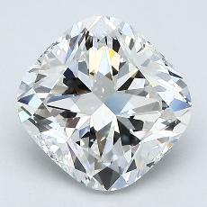 2,07-Carat Cushion Diamond Very Good F VS2