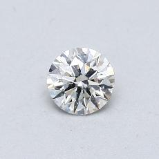 Pierre recommandée n°2: Diamant taille ronde 0,30 carat