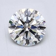 1,50 Carat Rond Diamond Idéale E SI1