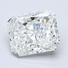 Pierre recommandée n°4: Diamant taille radiant 2,31 carats