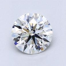 1.20-Carat Round Diamond Ideal E VS2